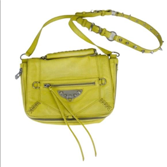 e615c9ec66 Sam Edelman Neon Leather Crossbody Messenger Bag